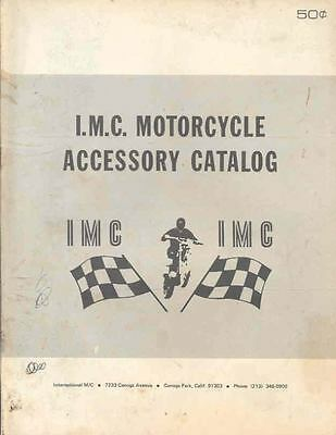 1972 IMC Motorcycle Accessory Brochure 66827-5NHC63