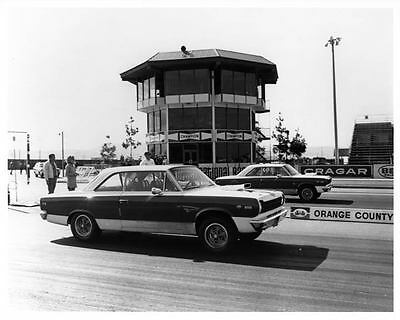 1969 AMC SC Rambler Hurst Orange County Drag Race Photo ad3801-SDQAG6