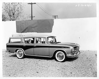 1957 AMC Rambler Station Wagon Factory Photo ad4127-XVNNQY
