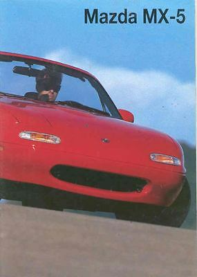1994 Mazda Miata Brochure German Switzerland wr2093-SA8SQK