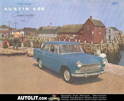 1960 Austin A55 Cambridge MK II Sales Brochure mw3270-OHMD8U