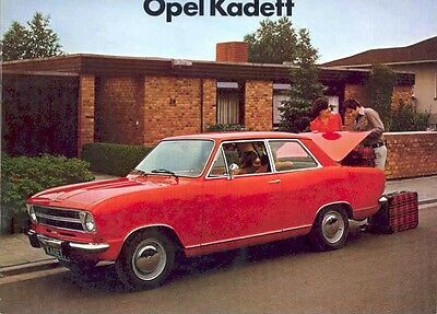 1973 Opel Kadett Sales Brochure German mw3928-J43WAI