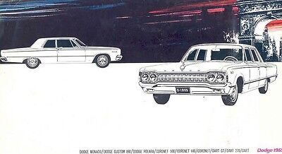 1965 Dodge Full Line Export Sales Brochure Swiss mw4416-O1681V