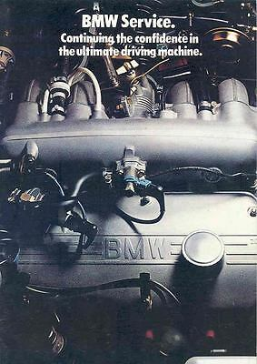 1978 BMW Service Training Sales Brochure mw9501-OGHY45
