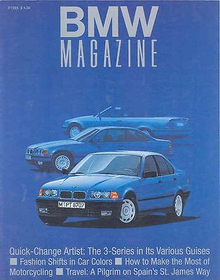 1994 2nd Issue BMW 3 Series Factory Magazine Brochure mw9641-6VFVSV