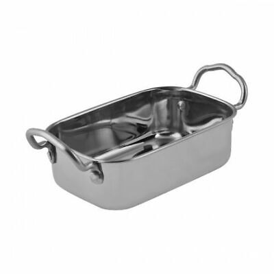 Serving Dish, Roaster Style, Veggies & Sides, Stainless Steel MODA Soho 145x95mm