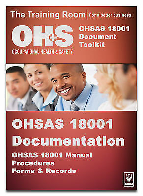 HSG65 OHSAS 18001:2007 Occupational Health and Safety Management Documentation