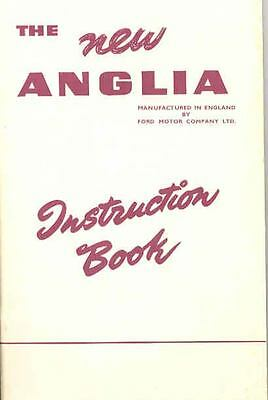 1955 Ford of England Anglia Owner's Manual fo424-2AGAKB