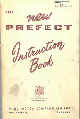 1955 Ford of England Prefect Owner's Manual fo423-2OPEB9