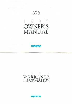 1995 Mazda 626 Owner's Manual and Pouch fo973-DGSOGL