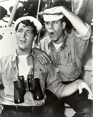 DEAN MARTIN & JERRY LEWIS Black & White Photo #514 Handsome Sailors