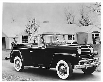 Picture Ref. #50568 Factory Photo 1950 Willys-Overland Jeepster