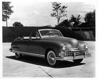 1949 Kaiser Frazer Factory Photo ad6375-GNYG59