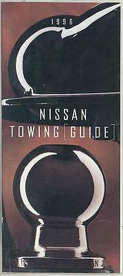 1996 Nissan Towing Guide Truck Brochure d0290-PZFOOA