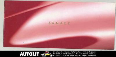 2000 Bentley Arnage Brochure d0365-WHARE5