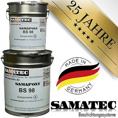 Epoxy floor coating ,10kg/50m² SAMAFLOOR BS98W
