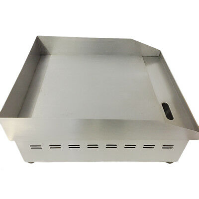 Commercial Griddle Electric Flat Hotplate Burger Grill Fryer 500mm x 400mm Steel