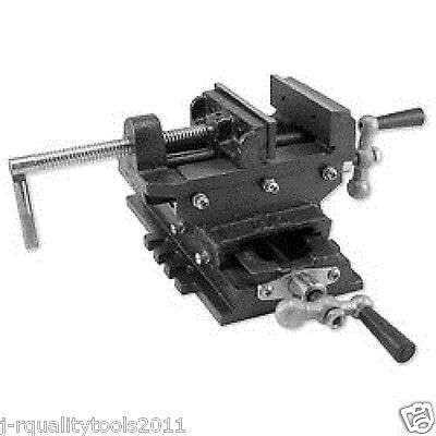 """6"""" 2 Way Milling Vise With Cross Slide For Drill Press"""