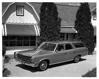 1967 AMC Ambassador Station Wagon Factory Photo ad7731-5FIF5Z