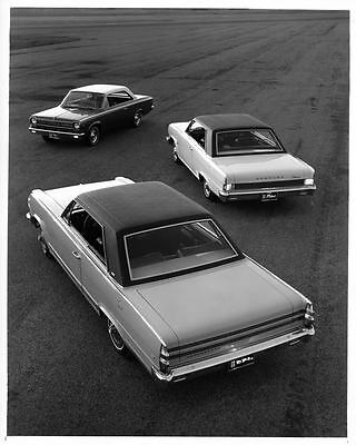 1966 AMC Rambler Factory Photo ad7753-L7B5SD