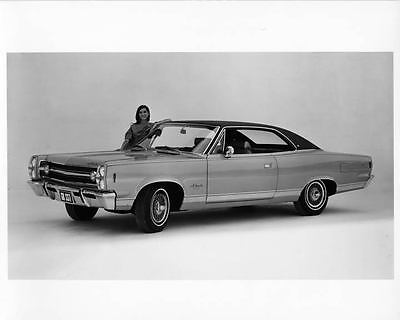 1968 AMC Ambassador SST Hardtop Factory Photo ad7862-AQBHTA