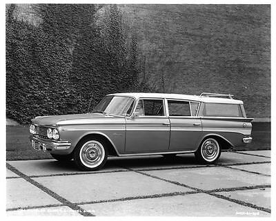 1961 AMC Rambler Classic Station Wagon Factory Photo ad7900-DGHN64
