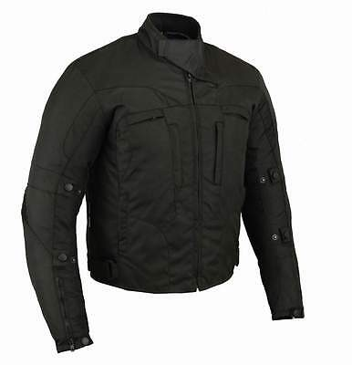 Men's  Motorcycle Motorbike Textile Jacket Wind/ Waterproof CE Armours Mode 658B