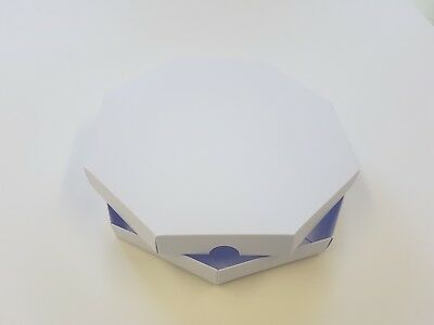 """5 x New 8"""" x 8"""" Octagon Greeting Card Box with Card Blanks Free Delivery"""