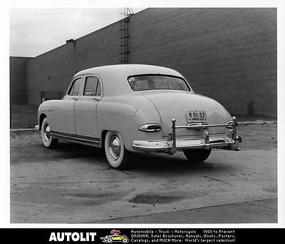 1949 Kaiser Flax Sedan Factory Photo ad9597-G1QOWP