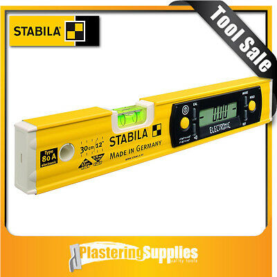 Stabila 80 A 1 Vial Electronic Spirit Level 17323  80AELECTRONIC30