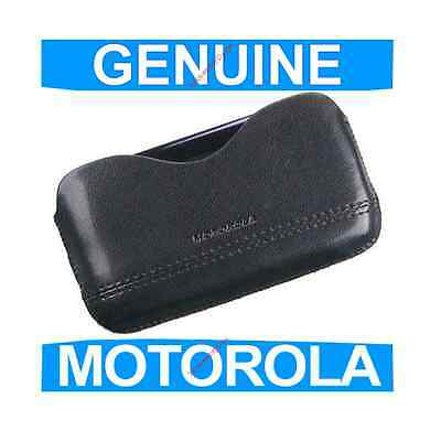 GENUINE Motorola RAZR2 V8, V9 PU Leather Pouch Mobile Phone case cover original