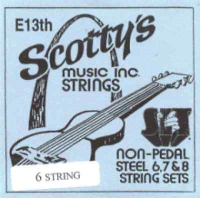 Scotty's E13th-6 strings Lap Steel Guitar - 1 Set