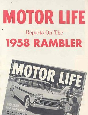 1958 AMC Rambler Rebel Roadtest Brochure 153409-N2OBZ3