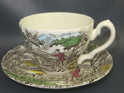 MYOTT - The Hunter - Multicolor - CUP & SAUCER SET - crz on saucer - 20G