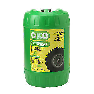 25LTR TYRE SEALER, OKO PUNCTURE FREE, OFF ROAD TYRE SEALANT c/w PUMP