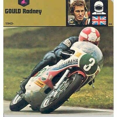 1978 Motorcycle Racing Rodney Gould Card Brochure 102866-ZI41SZ