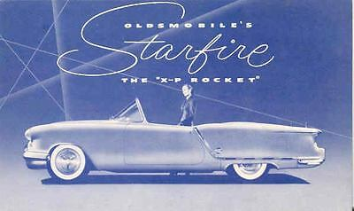 1953 Oldsmobile Starfire XP Experimental Brochure 111703-WDIHD8