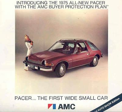 1975 AMC Pacer Brochure First Wide Small Car 112851-FX9P5E