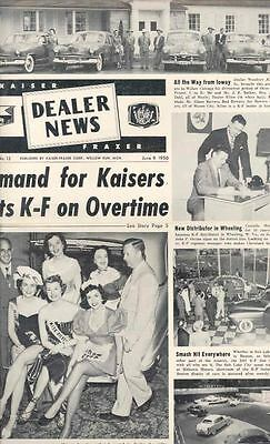 June 1950 Kaiser Frazer Dealer News Brochure 121415-IO7FOY