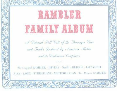 1962 AMC Rambler Brochure Family Album 134487-VW9N7S