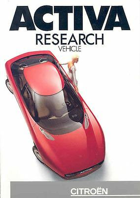 1989 Citroen Activa Prototype Experimental Press Kit  150021-1OXYAQ