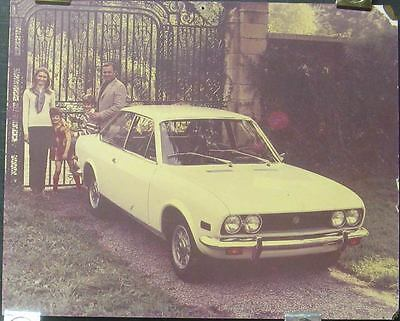 1972 Fiat 124 Sport Coupe Showroom Poster 150513-MZXGDM