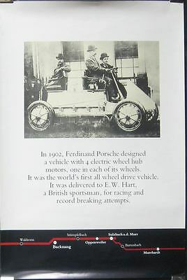 1902 Porsche Electric 4 Wheel Drive Showroom Poster 151883-MET64R