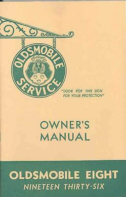 1936 Oldsmobile Eight Owners Manual om1246-YT9SK5