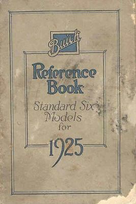 1925 Buick Standard Six Model Owners Manual om887-54L1RX