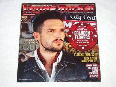 Vegas Rocks Magazine The Killers Brandon Flowers Exclusive Issue #81