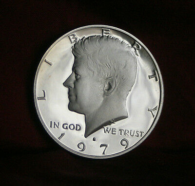 1979 S JFK Proof U.S. Half Dollar John F. Kennedy Beautiful Coin Eagle Shield