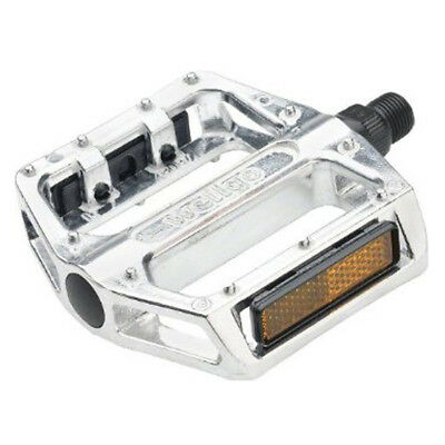 Wellgo Bicycle Pedals Bmx Alloy 1/2 Inch Silver Pair