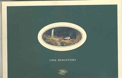 1996 Land Rover Discovery Prestige Brochure wt2010