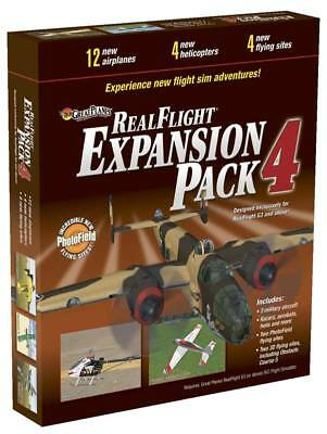 NEW Great Planes RealFlight Expansion Pack 4 GPMZ4114